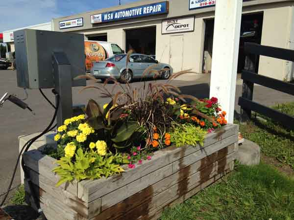 Sage Gardens Urns and Containers